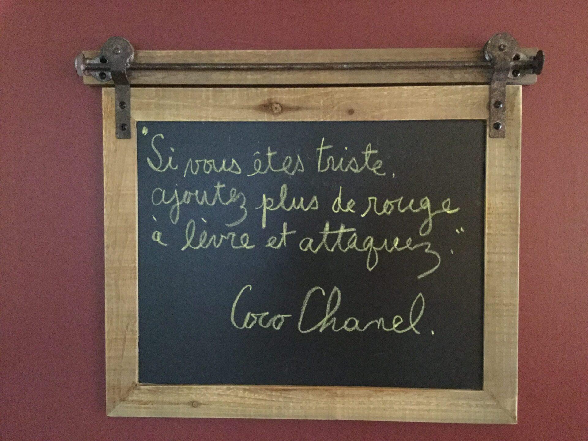 Citation Coco Chanel