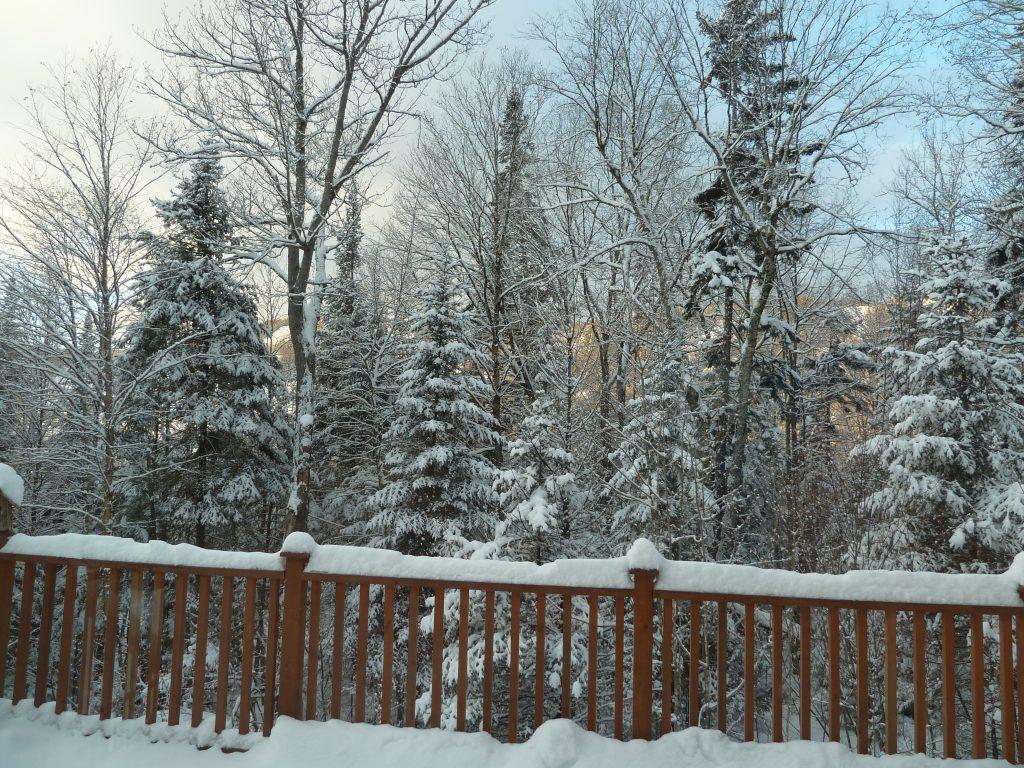 neige chalet crédit photo Phrenssynnes
