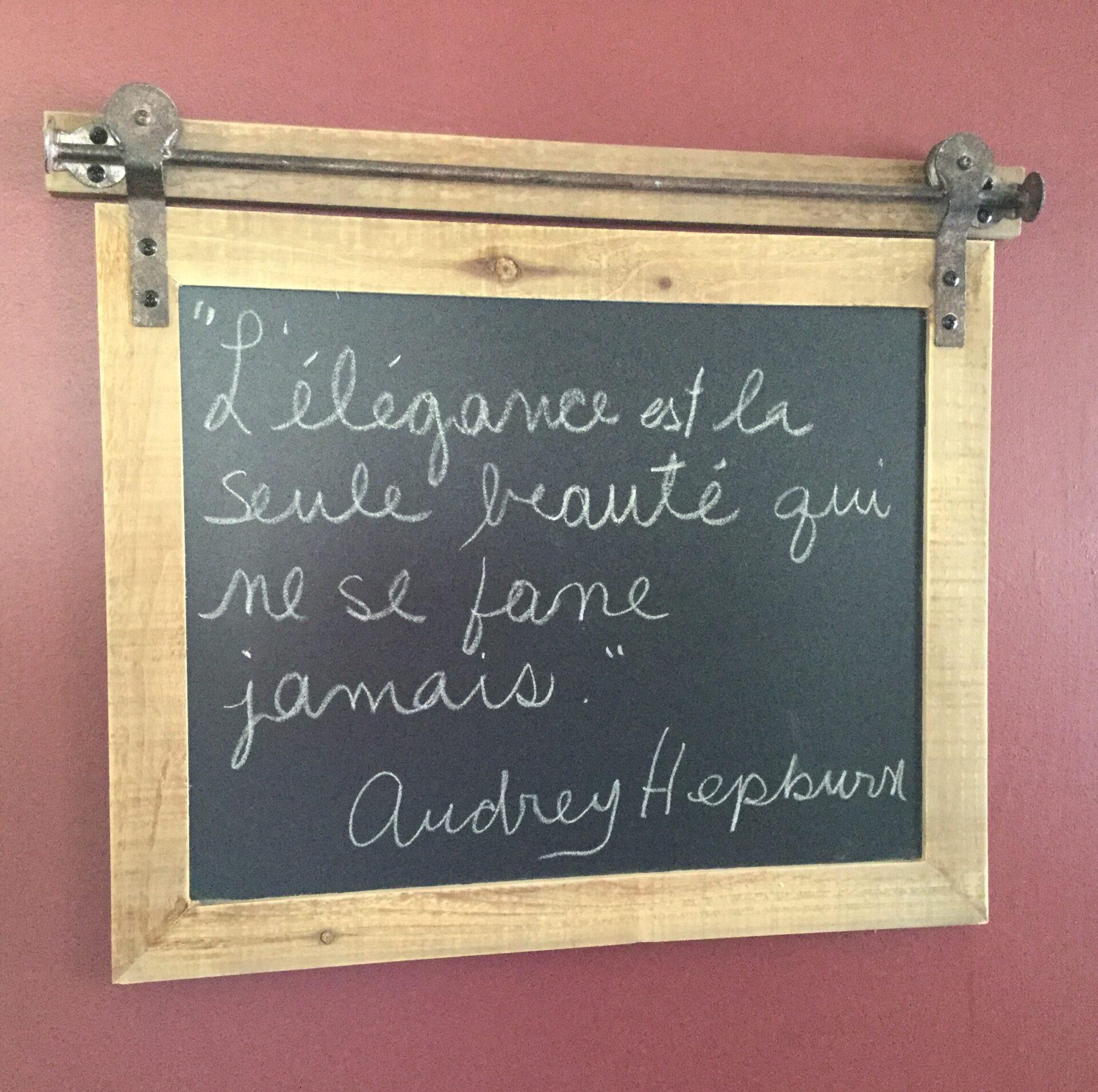 citation Audry Hepburn