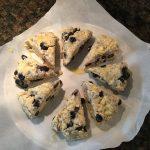Scones au bleuet de Phrenssynnes avant cuisson