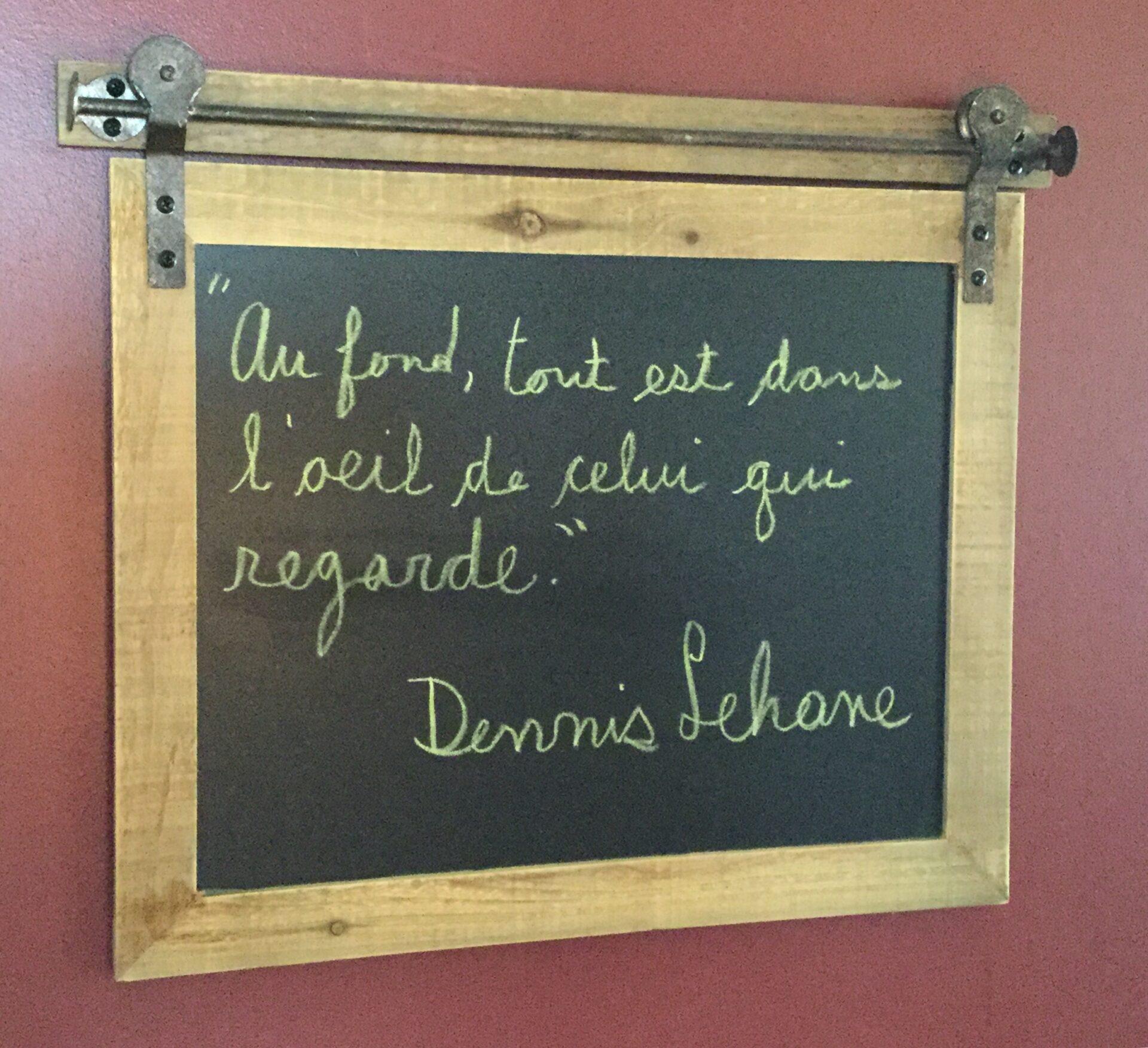 Citation Dennis Lehane