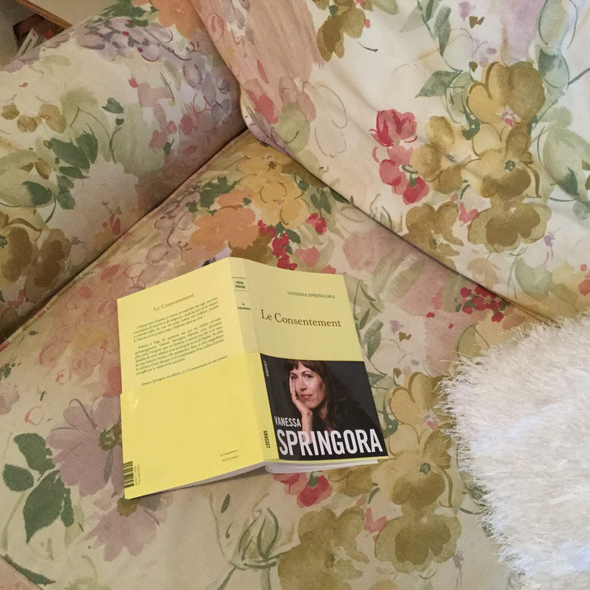 Le livre de Vanessa Springora