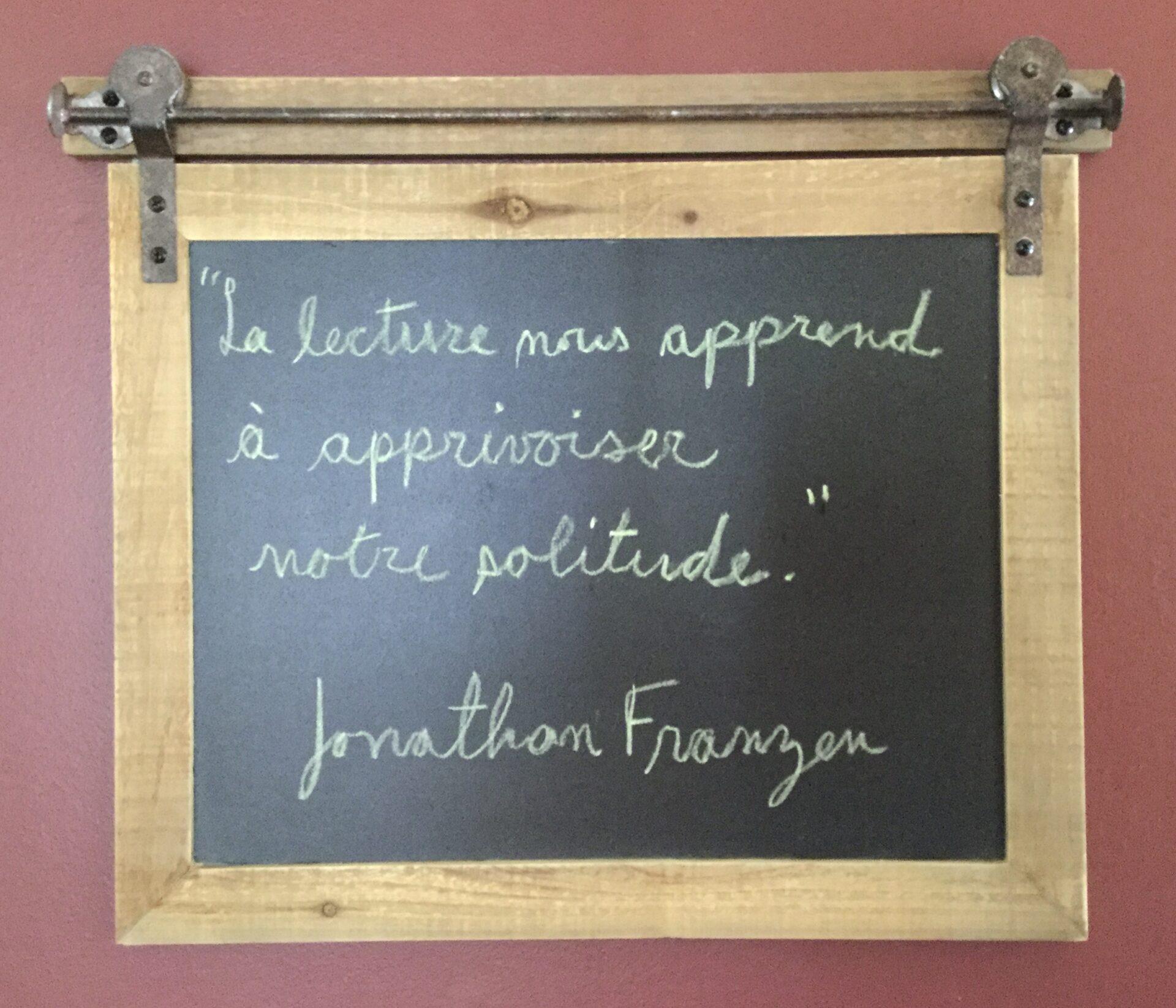 Citation de Jonathan Franzen