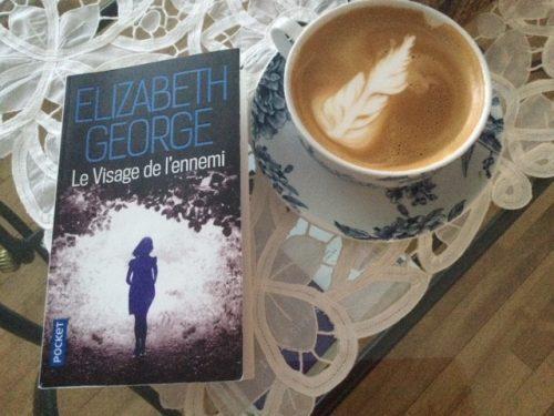 café et livre de Elizabeth George