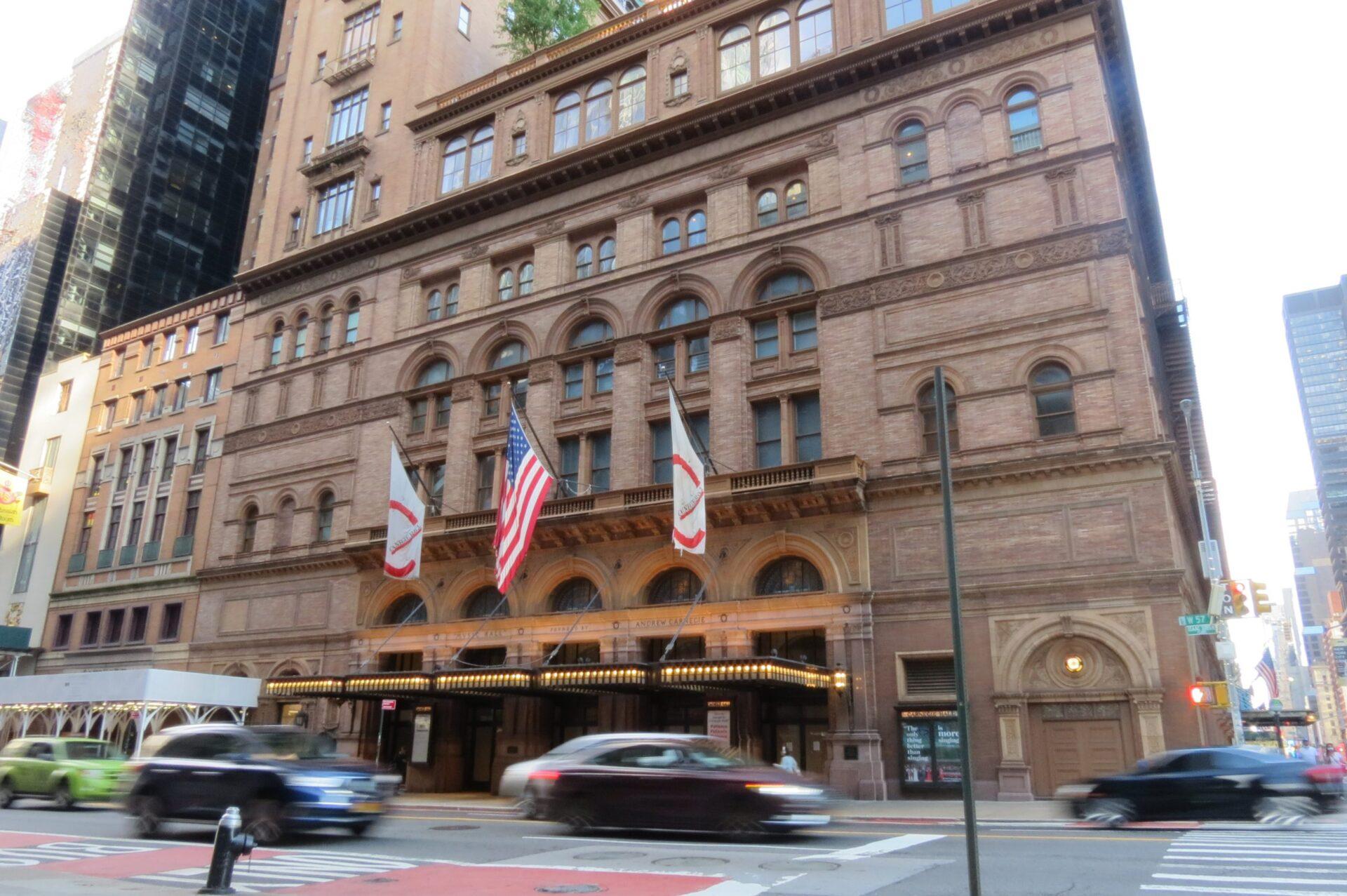 Carnegie Hall en 2021 crédit photo Kit4