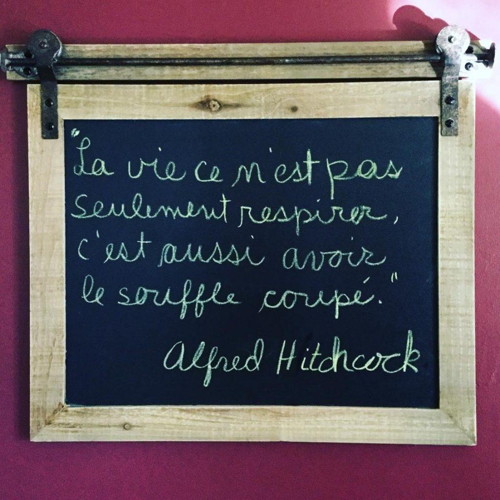 Citation d'Alfred Hitchcock